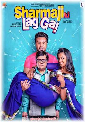 Sharmaji Ki Lag Gai 2019 350MB HDRip Comedy Movie Free Download Poster