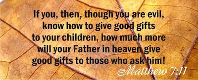 matthew 7:11 bible verse