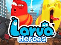 Larva Heroes Lavengers 2014 MOD APK+DATA (Unlimited Money)