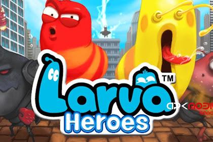 Larva Heroes Lavengers 2014 MOD APK+DATA (Unlimited Money)