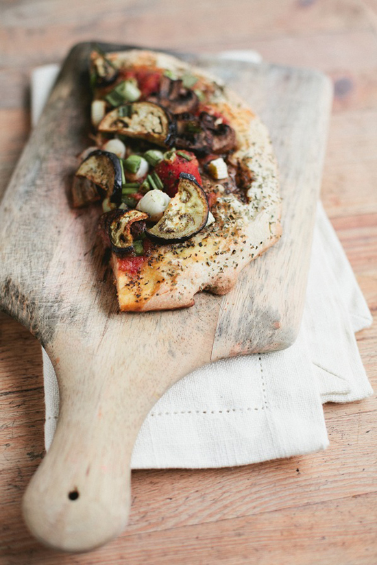 Easy homemade veggie pizza recipe by Simone Anne
