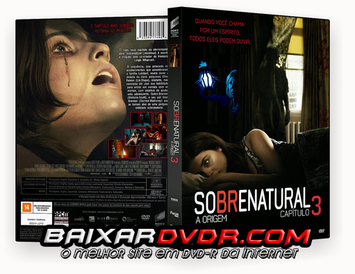 SOBRENATURAL 3 (2015) DUAL AUDIO DVD-R OFICIAL