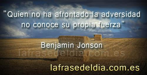 Frases célebres de Benjamín Jonson