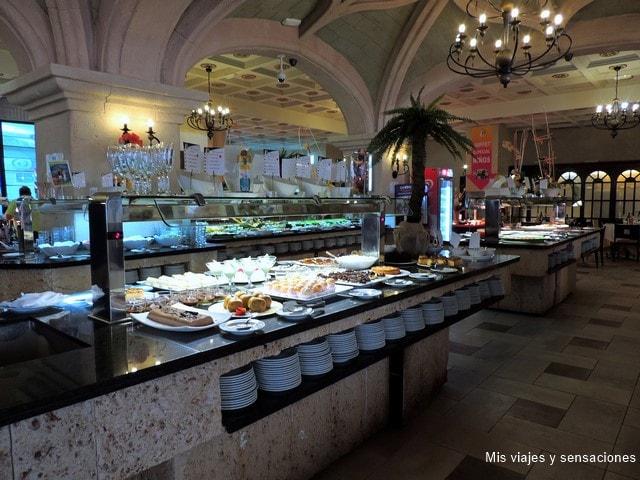 Restaurante Balneario de Marina D'or, ciudad de vacaciones, Oropesa del Mar, Castellón