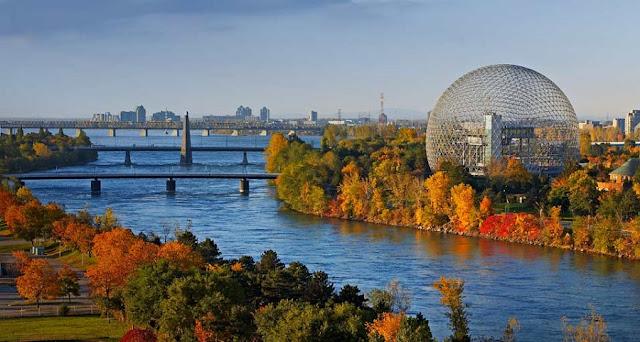 Parque Jean-Drapeau em Montreal