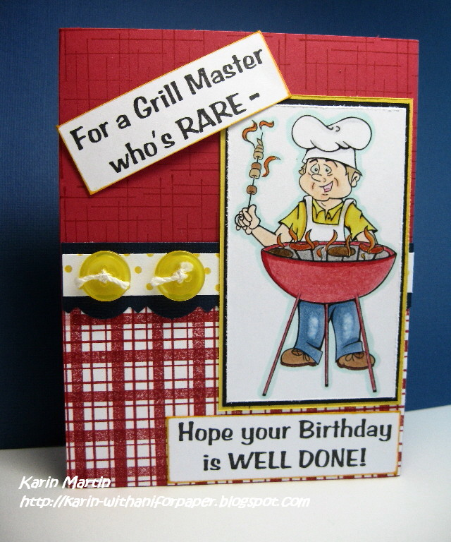 """With An """"i"""" For Paper!: A Rare Grill Master"""