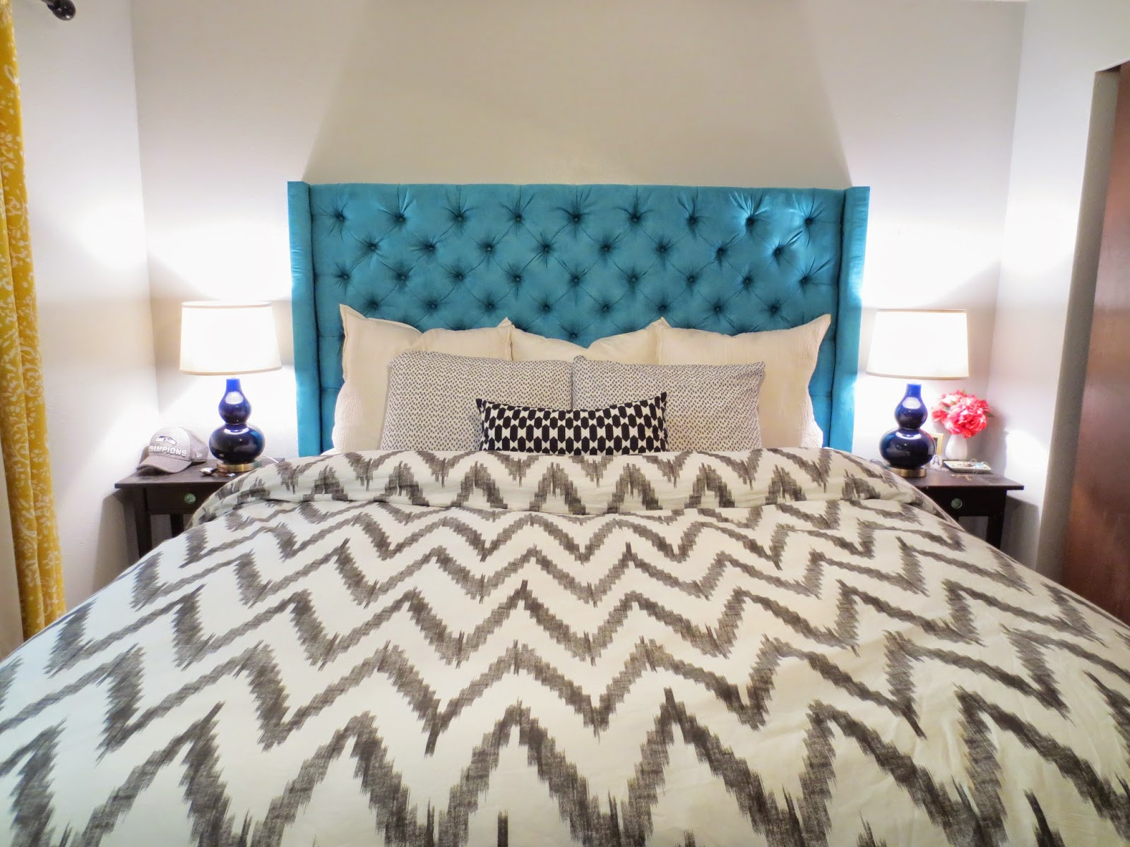 Diy Deep Diamond Tufted Headboard