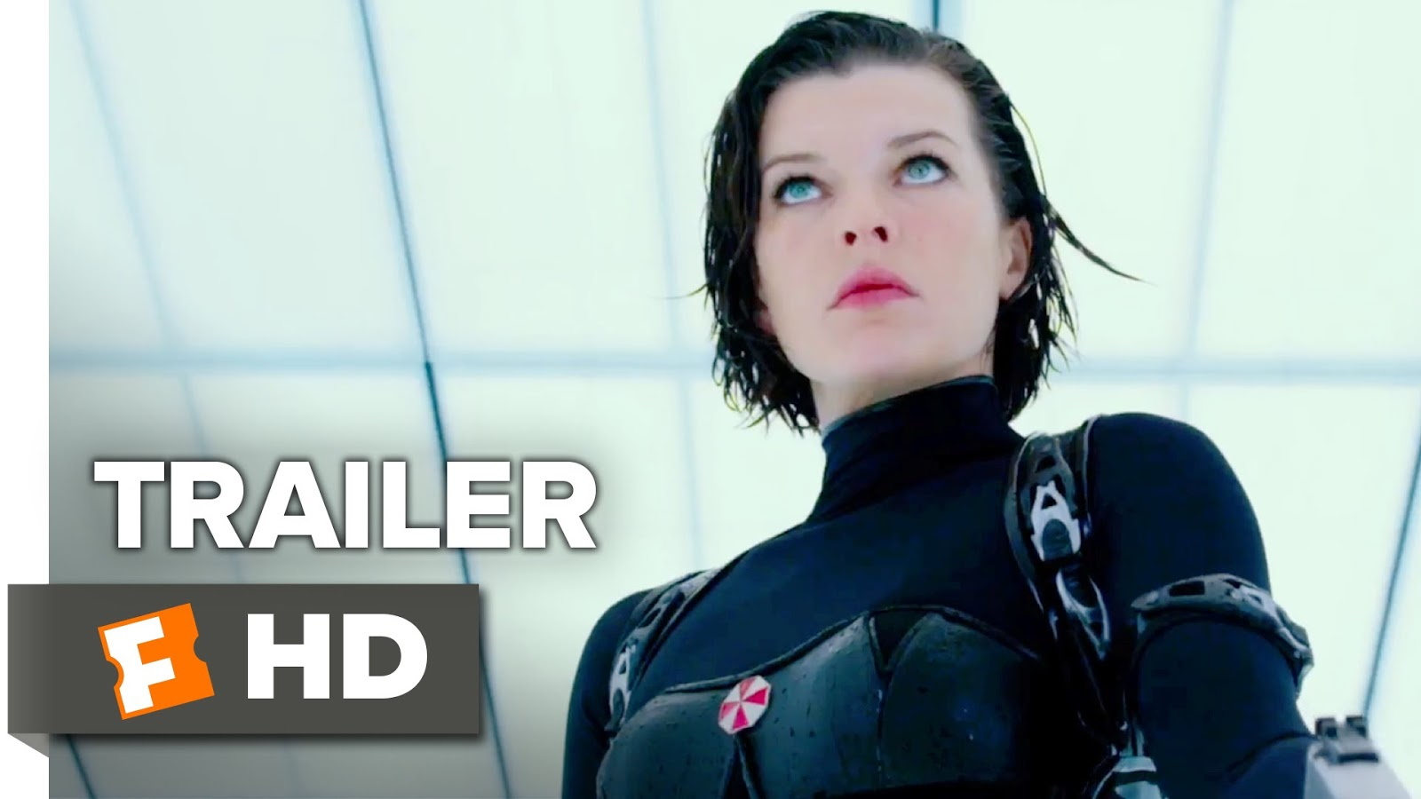 Milla Jovovich Ruby Rose Resident Evil The Final Chapter: The Fast Trailers