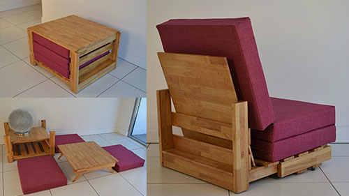 furniture multifungsi untuk rumah kecil