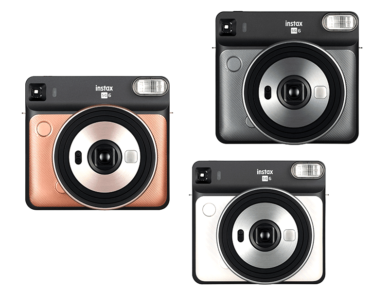 "Fujifilm announces Instax Square SQ6 and Square Film ""Black"""