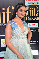 Vimala Raman in a Deep Neck White Shaded Sleeveless Gown ~  Exclusive 24.JPG