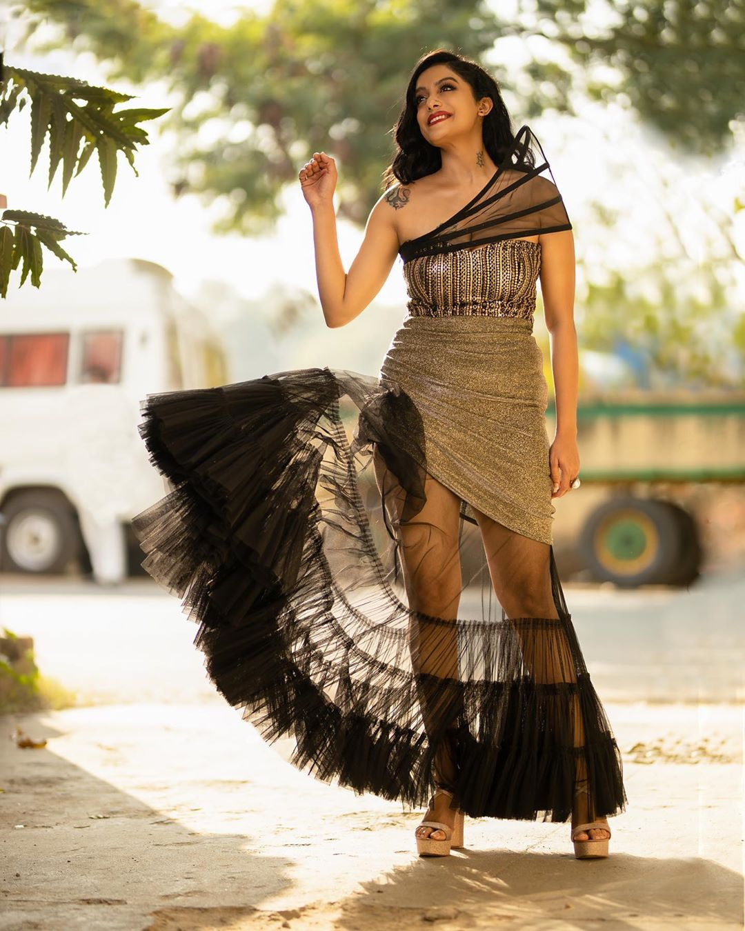 Actress Abhirami Iyer Venkatachalam Glam Pics