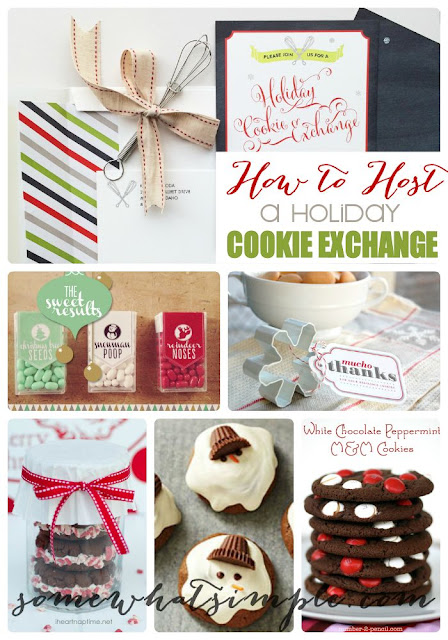 http://www.somewhatsimple.com/how-to-host-a-holiday-cookie-exchange/