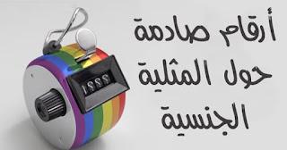 أرقام صادمة حول المثلية الجنسية