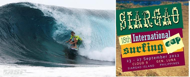 2c0dadb3f727 ... eight surfing destination, Cloud 9, will once again host its annual  international event from September 23 to 29. The Municipality of General Luna  and ...