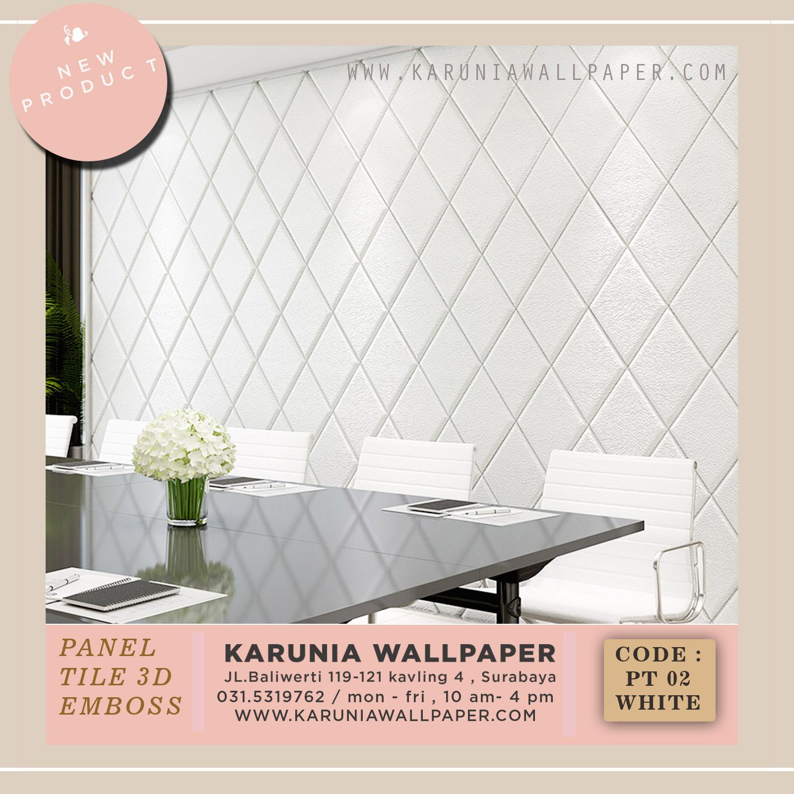 jual wallpaper foam empuk 3d surabaya