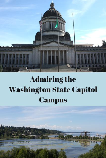 Admiring the Washington State Capitol Campus in Olympia, Washington