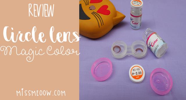 Review Circle lens - Magic Color