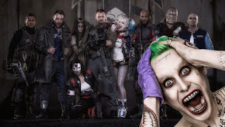 suicide squad, 2016, Film, Crime, Blood, Wallpaper