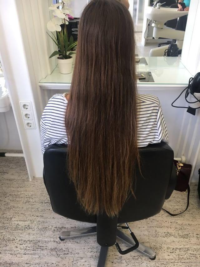 Lange haare radikal abschneiden