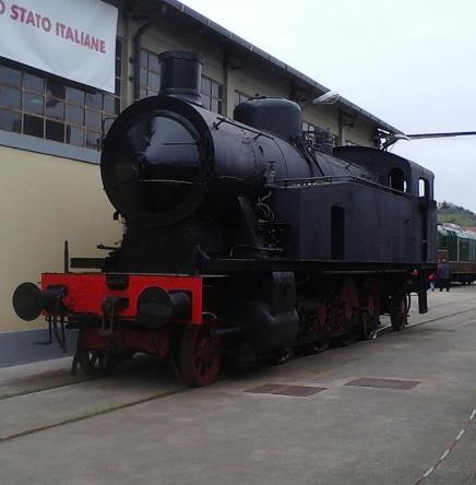 locomotore treno storico la Spezia