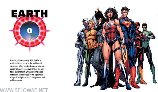 Mengenal 52 Macam Earth (Bumi) dalam DC Multiverse