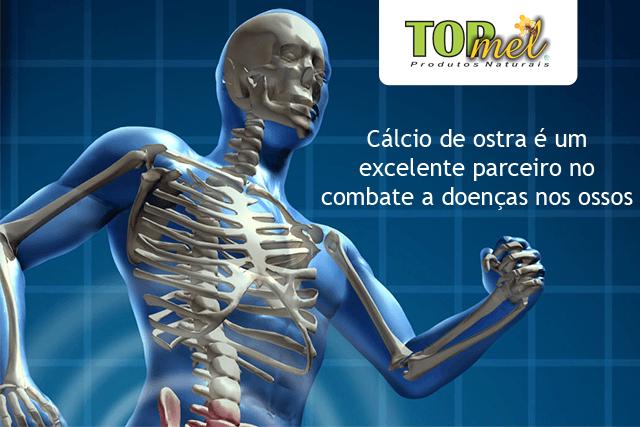 Cálcio de ostra em cápsulas no combate a doenças nos ossos