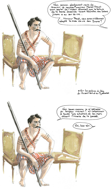 Proust et Anent. Nouvelles des Indiens jivaros
