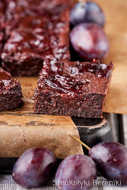 Ciasto czekoladowe z powidłami