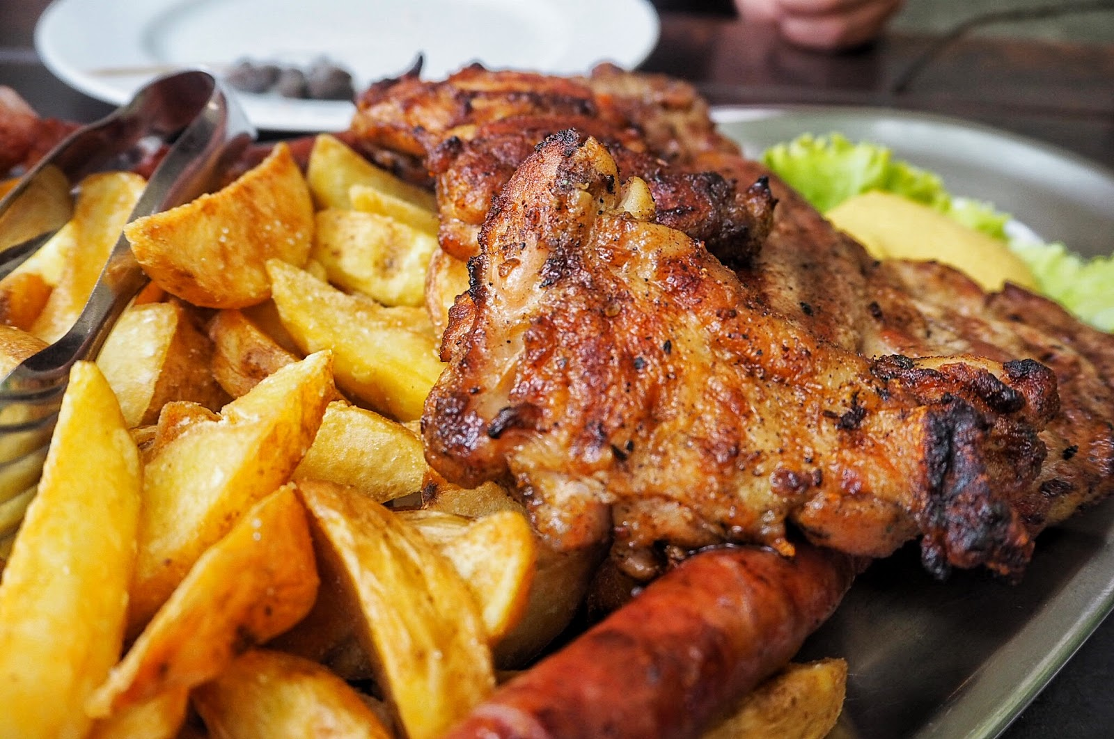Food, dining, Dubrovnik, Croatia, Food blog, Restaurant, Lady PiPi, Mixed Grill, Meat Platter