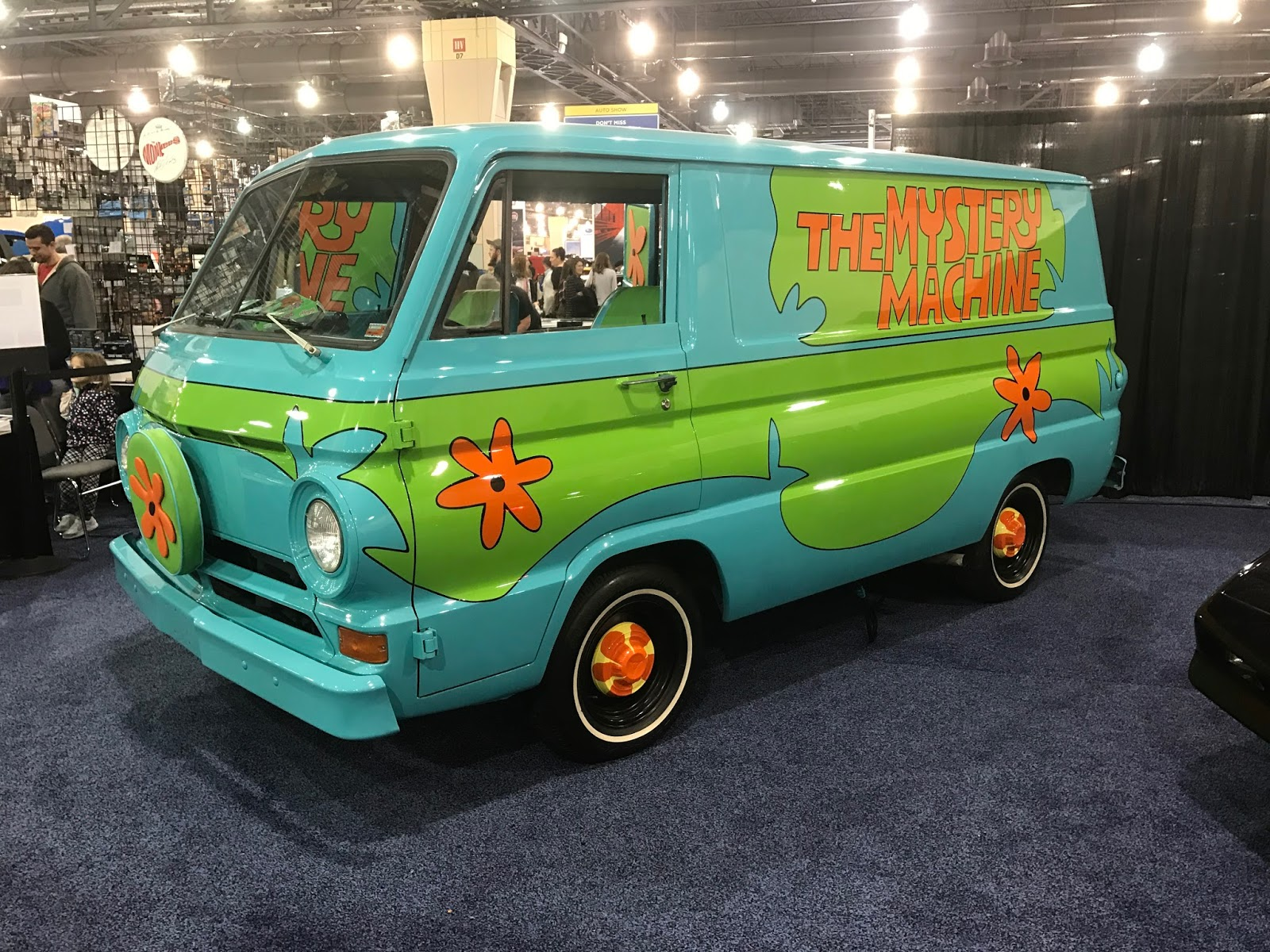 ScoobyAddicts Blog The Mystery Machine At The Philly Car Show - Philly car show