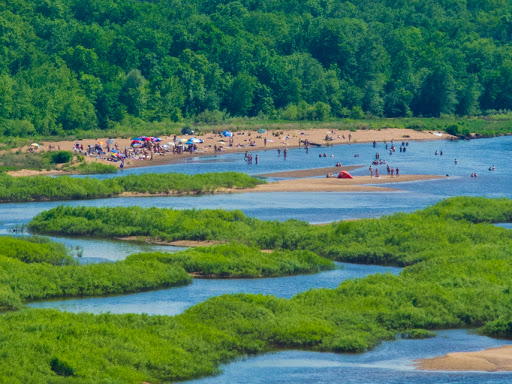 Mazo Beach on the Wisconsin River
