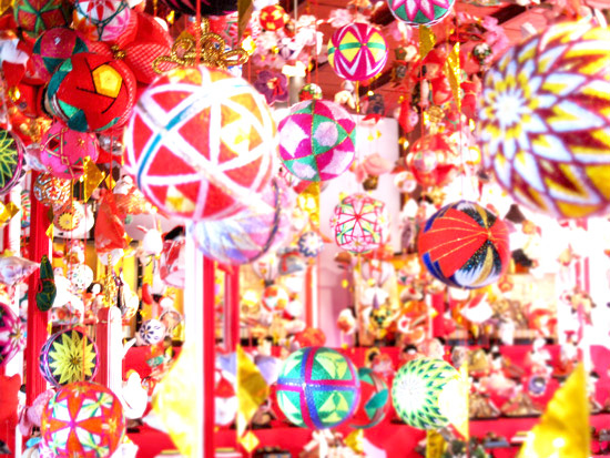 柳川の雛祭り さげもん