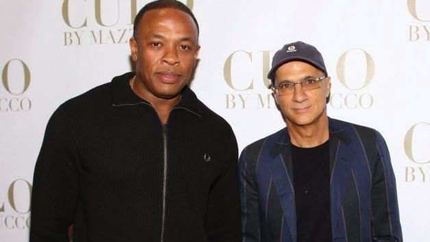 Dr. Dre and Jimmy Iovine of Beats Electronics image