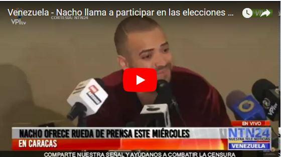 La rueda de prensa completa de Nacho - Todos a votar!