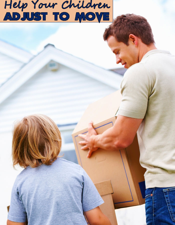 Help Your Children Adjust to The Move