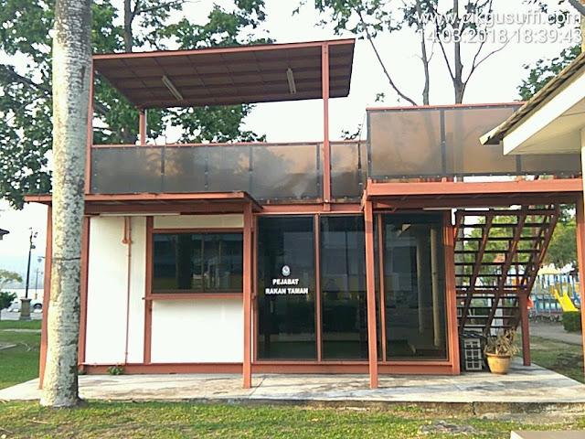 Rekabentuk pondok moden untuk taman atau kebun durian!  #pertanian