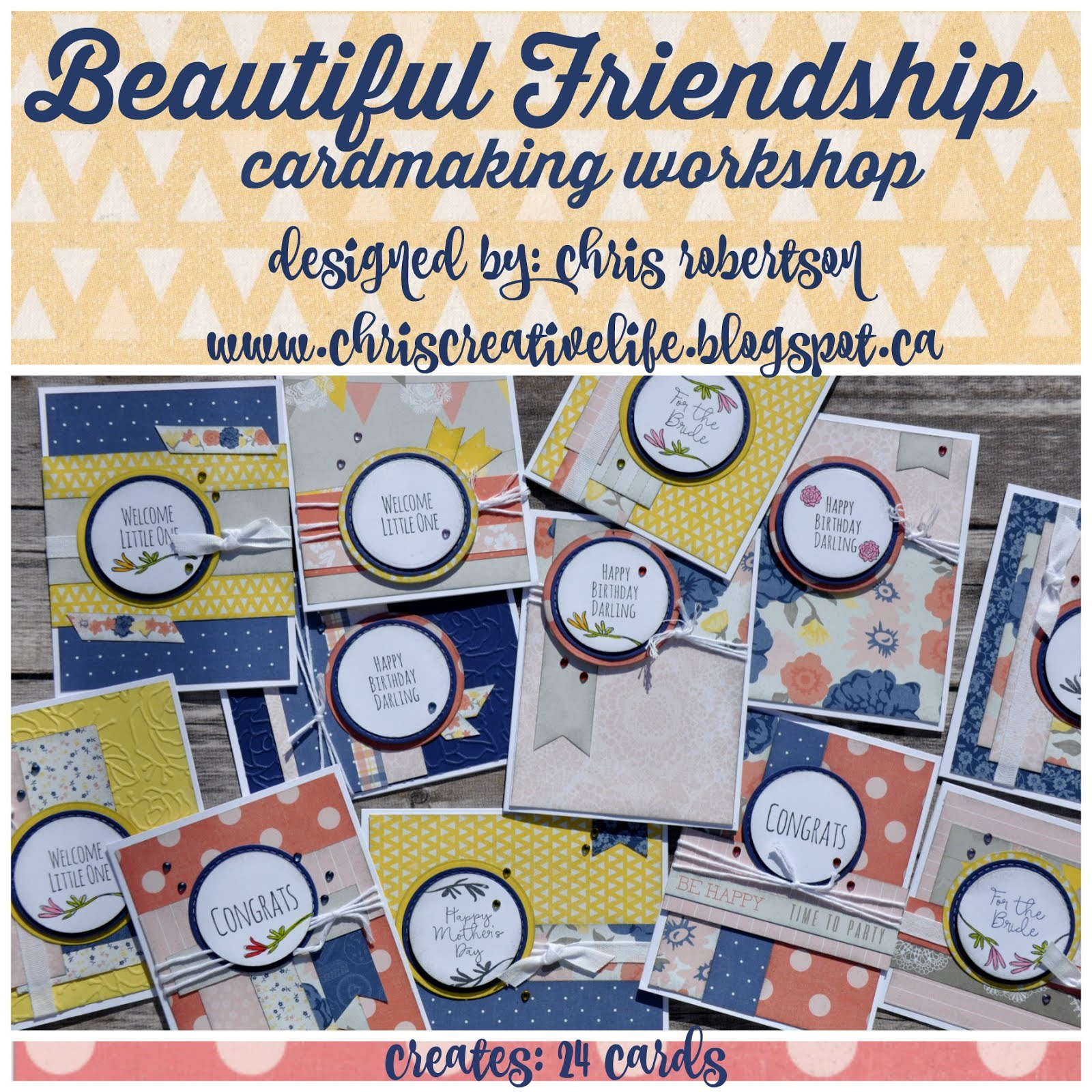 Beautiful Friendship Cardmaking Workshop