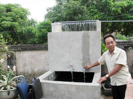làm bể lọc nước giếng khoan