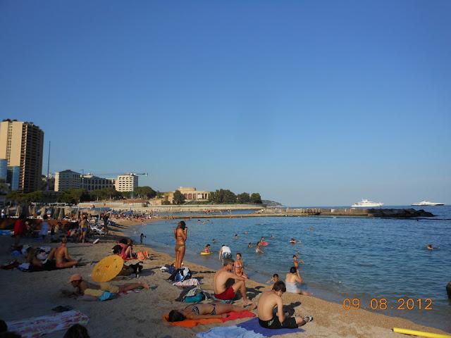 Praia de Mônaco - Europa - Eurotrip