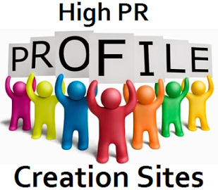 Top High PR Do Follow Profile Creation Sites List