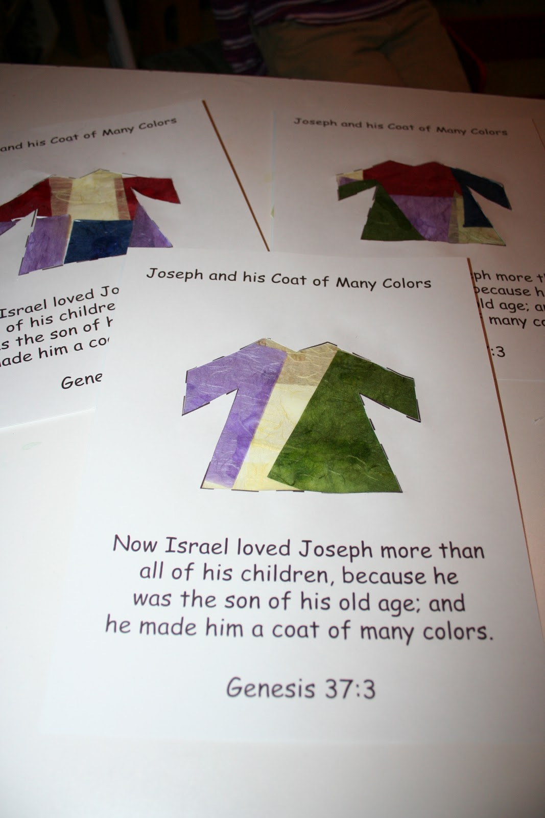 Our Country Road: Bible Activity Book: Joseph and the Coat ...