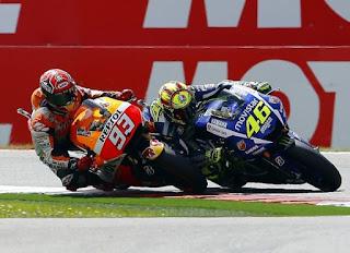 Hasil MotoGP Jerman: Marquez Juara, Rossi Kedua