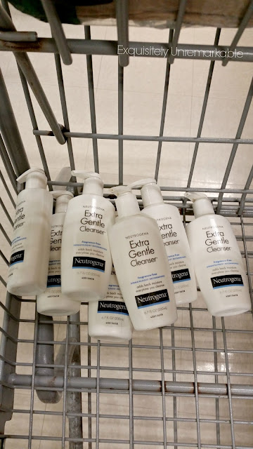Neutrogena facial cleanser