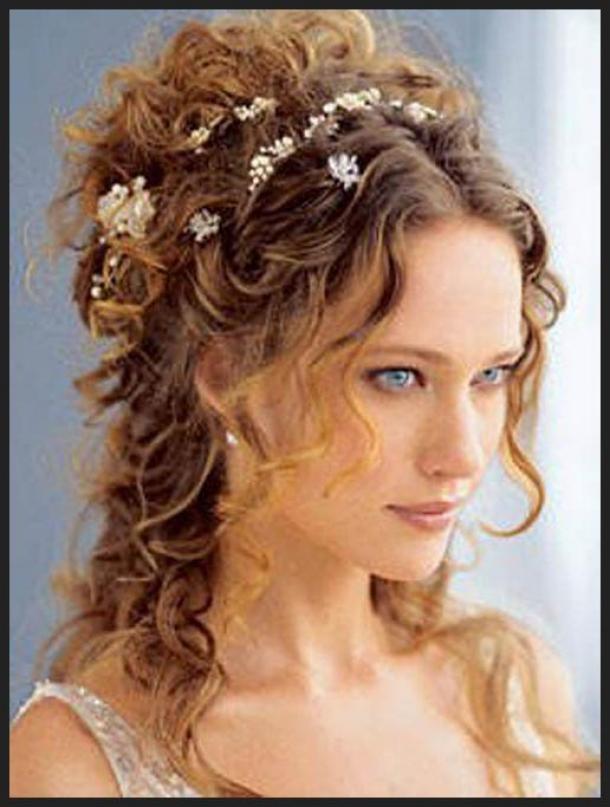 Swell Tess Daily Naturally Curly Wedding Hairstyles Wedding Hairstyles Short Hairstyles For Black Women Fulllsitofus