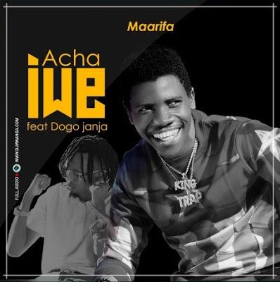 Download Audio   Maarifa Ft. Dogo Janja - Acha Iwe