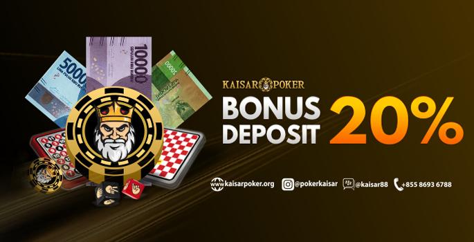 Bonus Deposit 20%