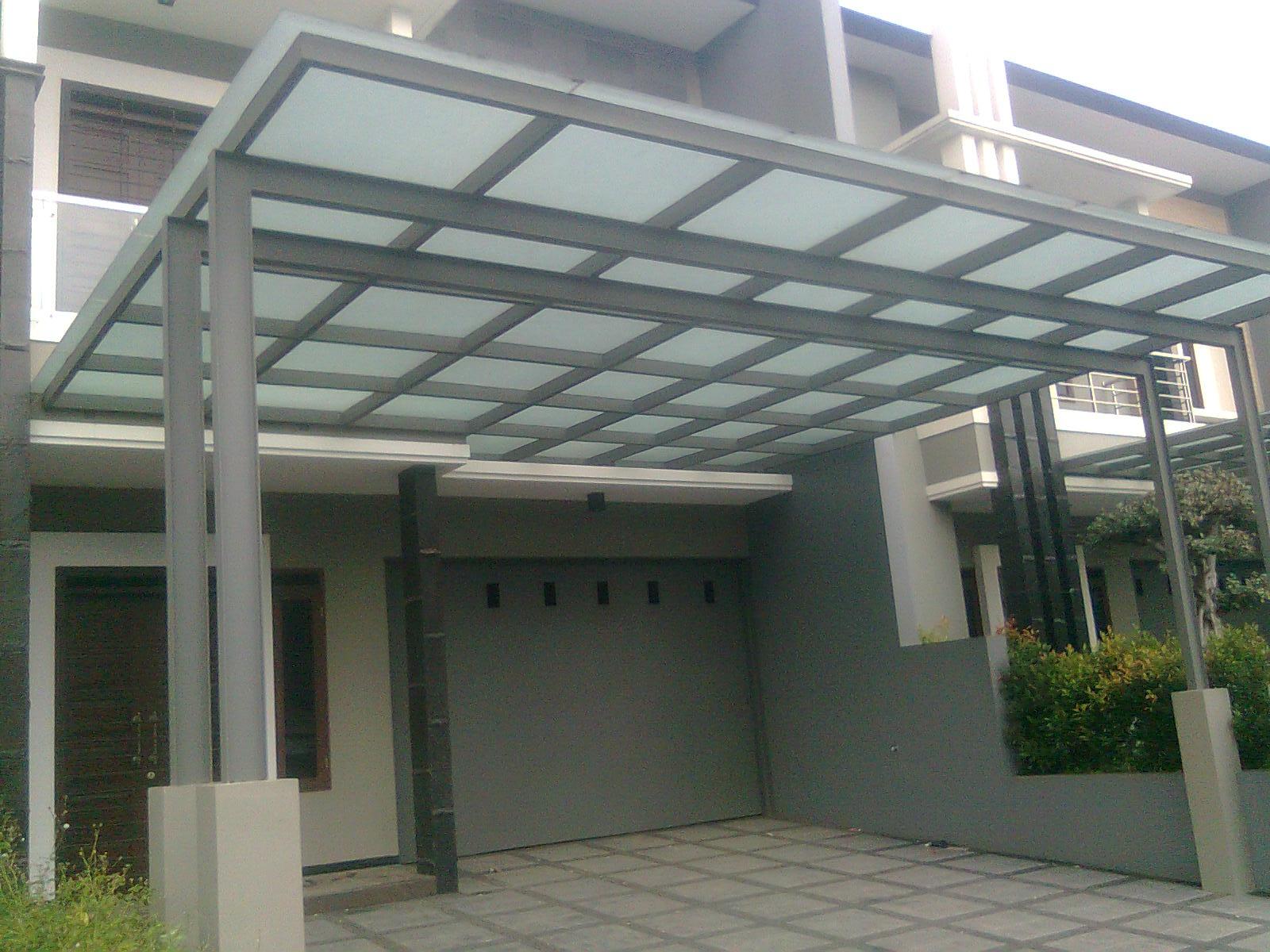 kanopi baja ringan untuk rumah minimalis kaca, canopy atap buka tutup, spider kaca