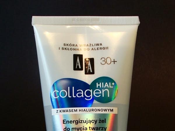 AA Collagen HIAL+ Energizujący żel do mycia twarzy