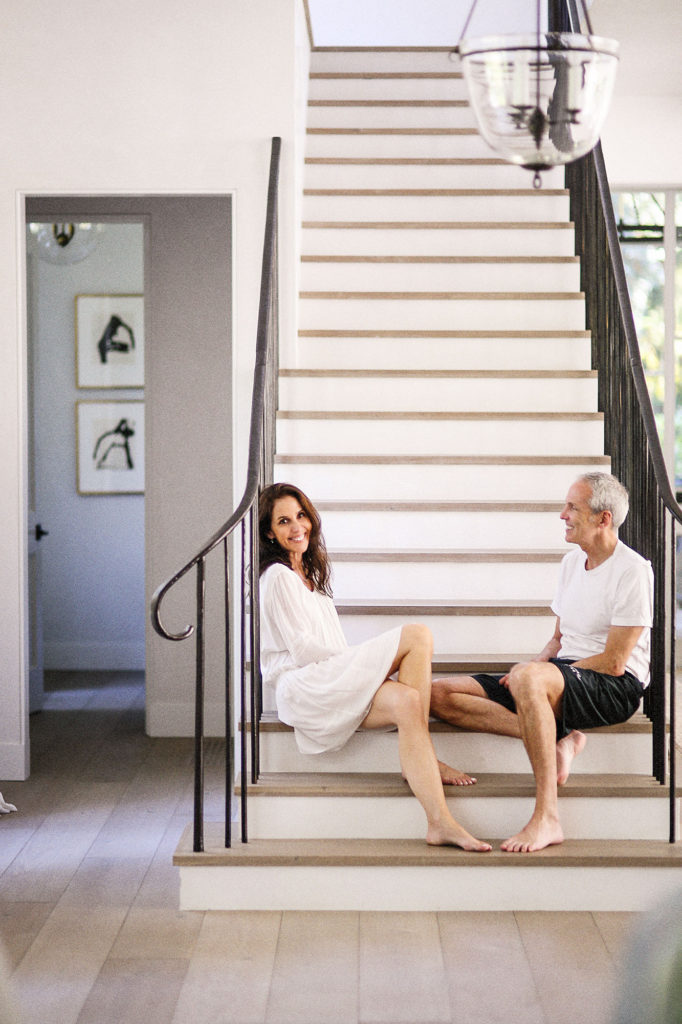 image result for traditional modern farmhouse staircase California renovation Giannetti
